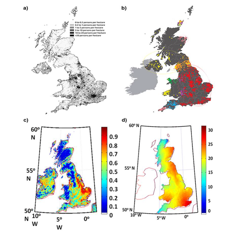Population dynamics of early human migration in Britain